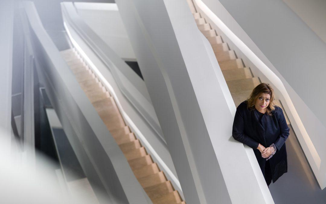 建築女爵Zaha Hadid-建築不再是男性主宰的世界