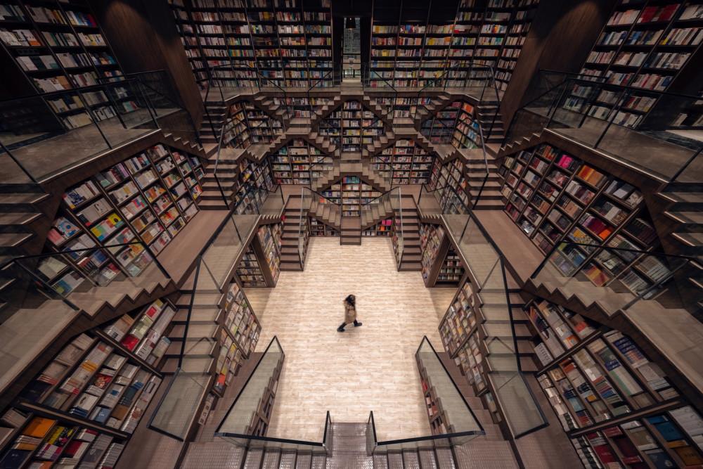 「全球十大最美書店」重慶鍾書閣 五次元的書香迷宮