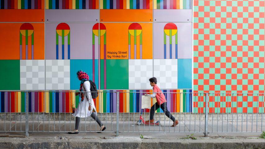 倫敦新銳藝術家Yinka Ilori最新力作 地下道化身快樂街!