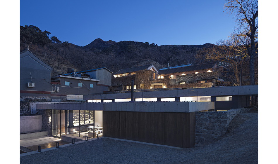 老糧倉改建的四房民宅 德籍團隊MDDM Studio打造長城山居