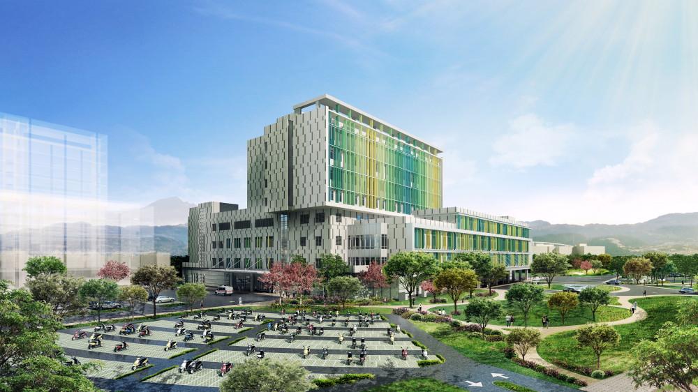 綠色思維在風城 台大醫院新竹生醫園區