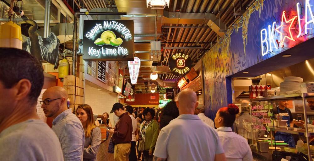 另類建商的青創育成基地──從臨時市集到特色美食廣場Dekalb Market Hall