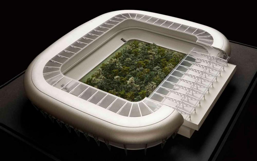 足球場竟然長出一片森林?藝術策展人Klaus Littmann藉299棵大樹反思氣候變遷