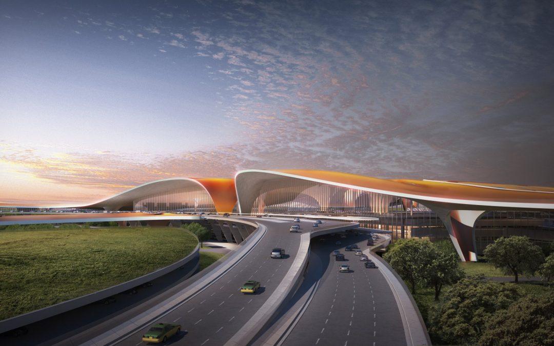 「新世界七大奇蹟之首」 Zaha Hadid操刀北京大興機場首亮相!