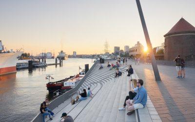 Zaha Hadid遺作! 耗時10年德國漢堡防洪河濱步道終完工