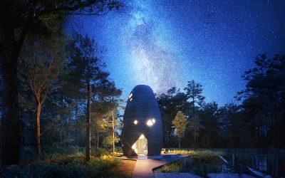 用太空科技打造的自給自足永續民宿TERA  2020年3月正式開放入住體驗