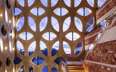 Iris van Herpen為建築設計外衣  荷蘭自然生物多樣性中心正式啟用