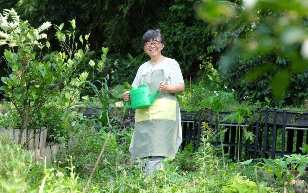 【看人物】黃盛璘:園藝治療是透過植物撫慰身心的生命教育