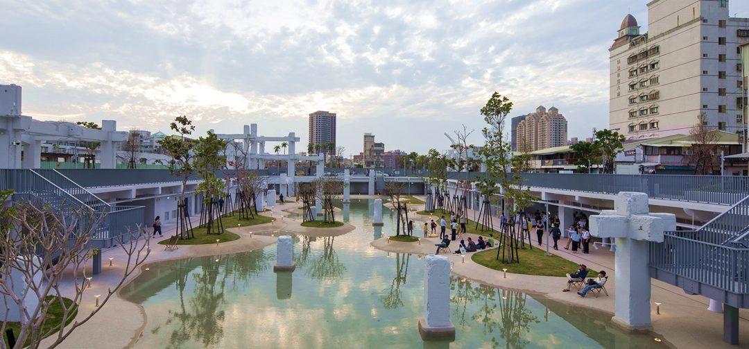 【好設計】台南河樂廣場,城市老記憶變身