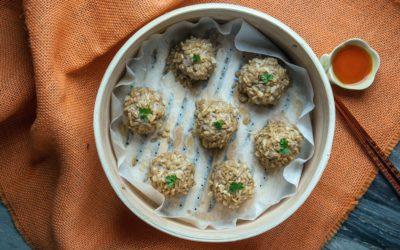 【做料理】燕麥珍珠丸子 高營養低熱量
