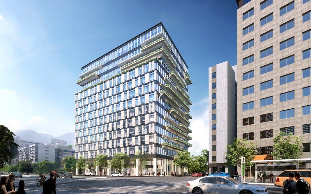 與城市共享,冠德建設打造全新概念智慧辦公大樓