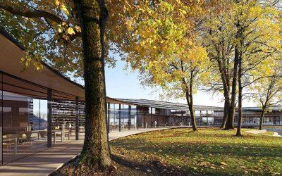 【學建築】把自然裝進圖書館  溫柔擁抱地景