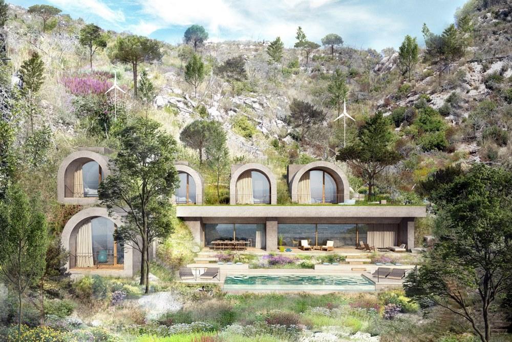 【學建築】從地形中「長」出來的生態綠宅