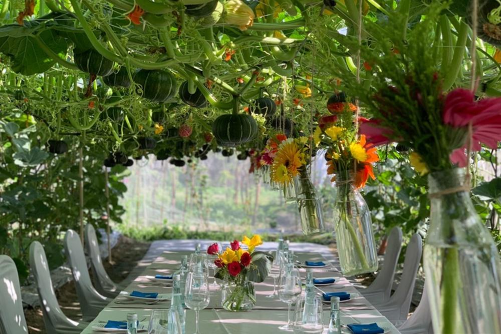 【永續餐廳】產地即餐桌!瓜棚下品旬之味