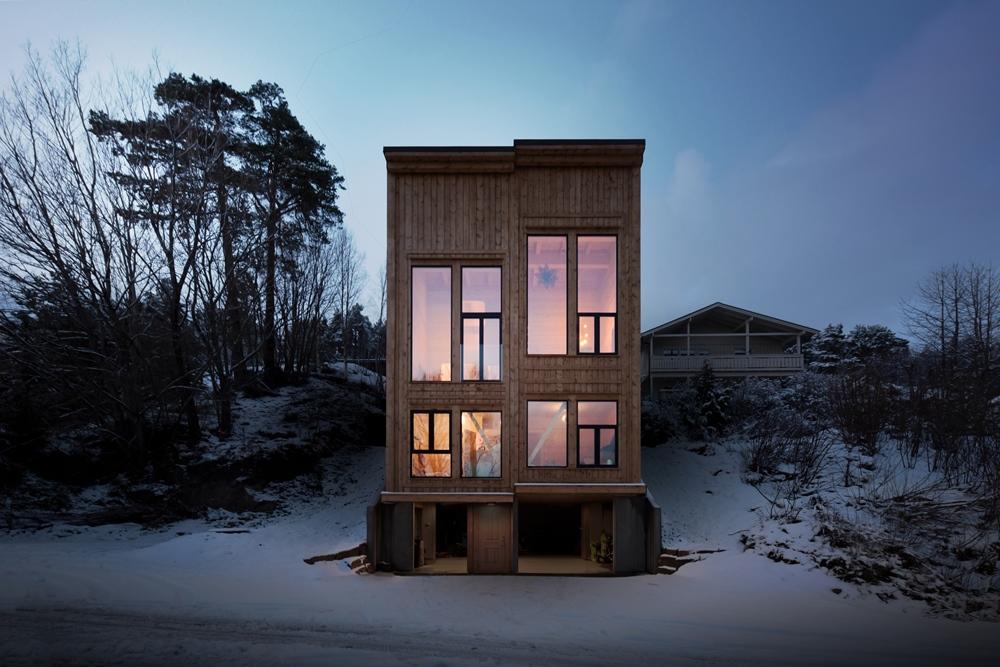 【學建築】迎接光與風進駐的森林木盒