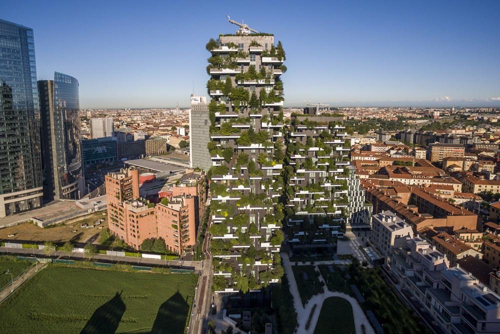 【學建築】垂直森林  都市新綠塔