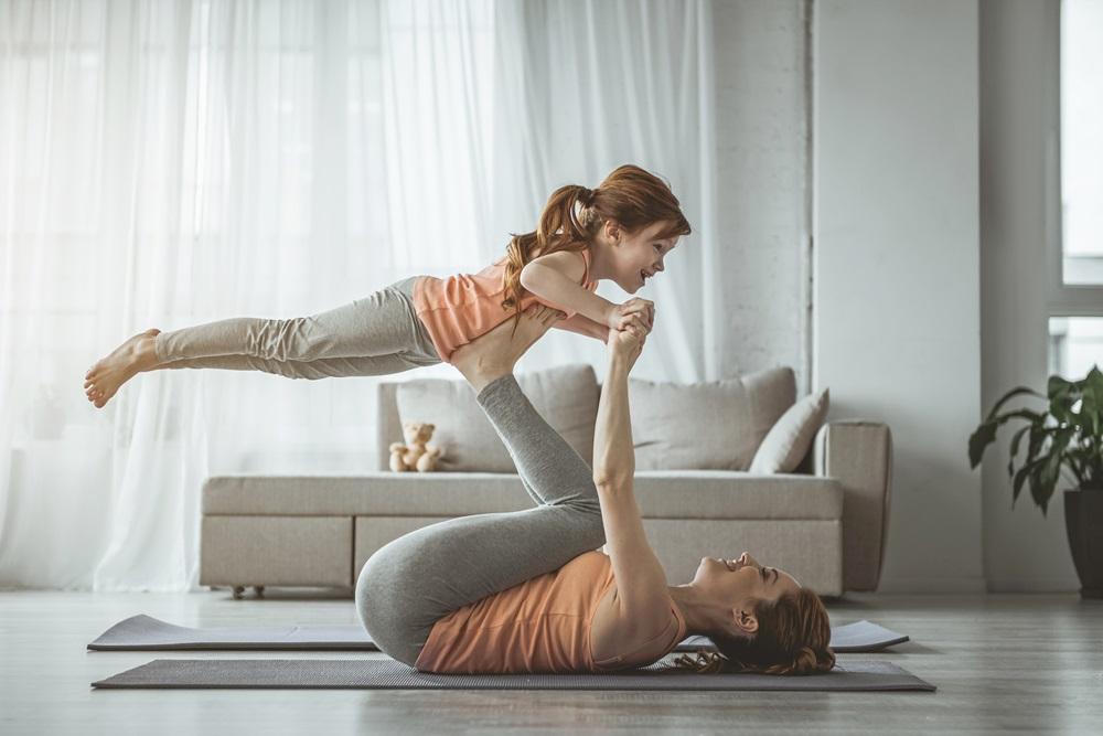 【愛運動】4招親子瑜伽練習  玩出身心好平衡