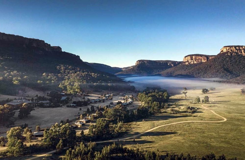 【綠旅宿】綠旅宿先驅 澳洲奢華山谷酒店